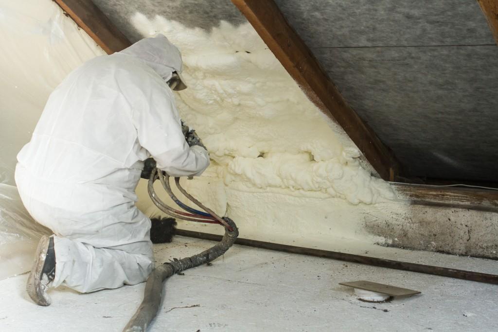 adding roof insulation