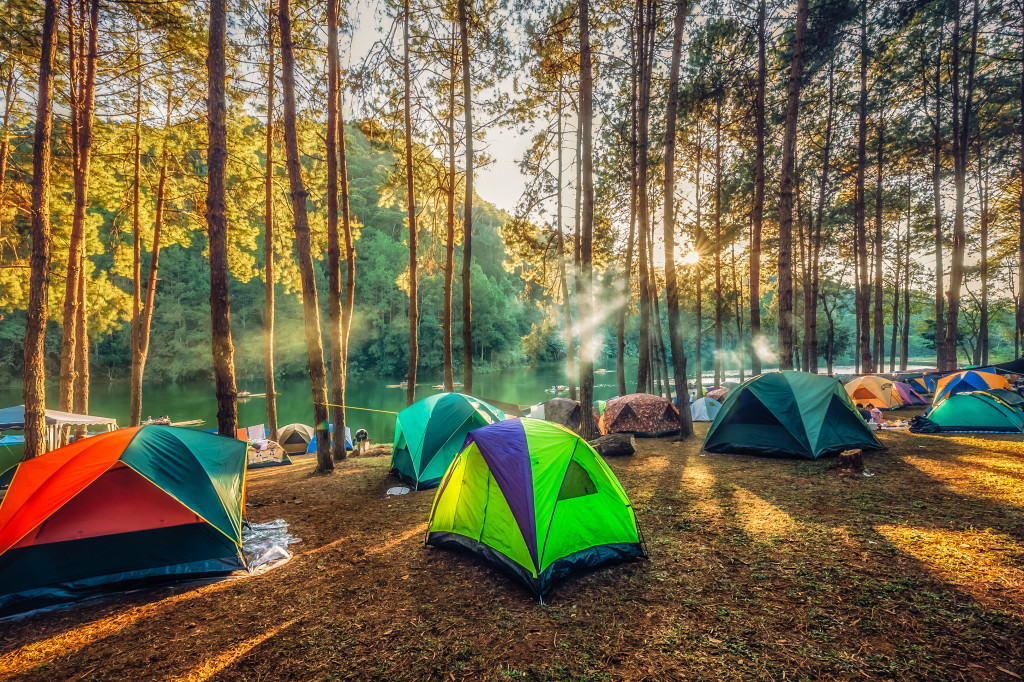 camping tents