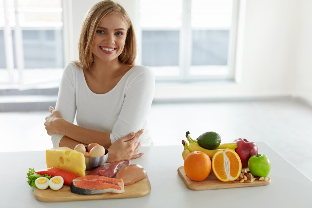 woman with healthy lifestyle