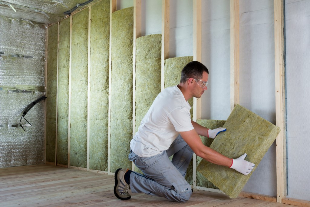 insulation on walls
