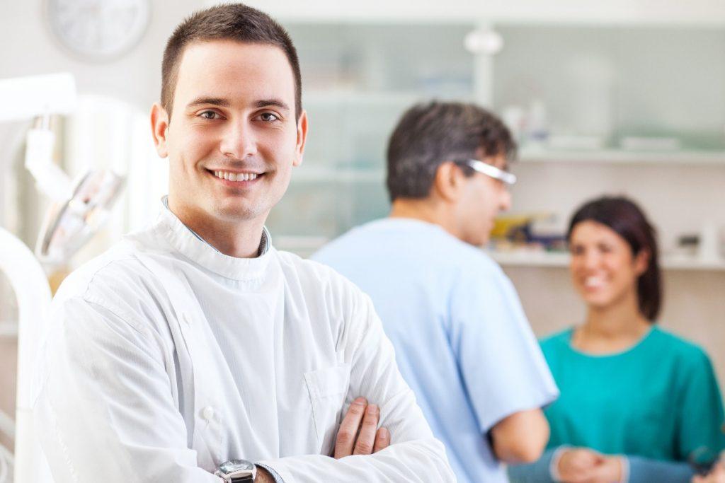three dentists