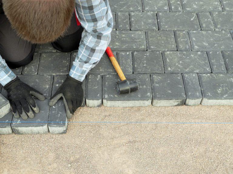 fixing backyard walkway